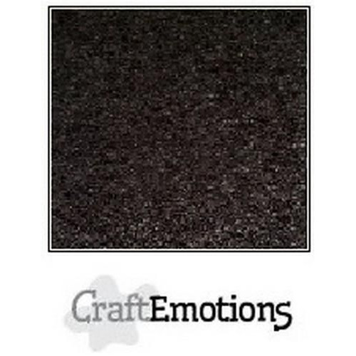 CraftEmotions karton kraft zwart 10 vel 27x13,5cm  220GR
