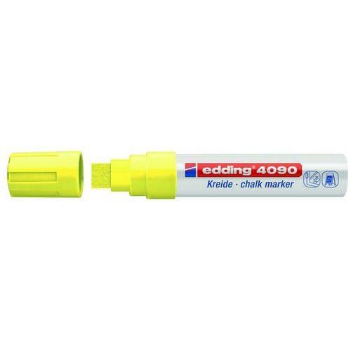 edding-4090 kalk marker / window marker neon geel 5ST 4-15 mm / 4-4090065