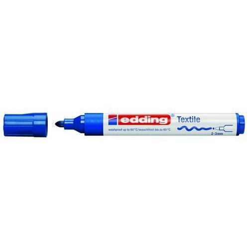 edding-4500 textielmarker blauw 10ST 2-3 mm / 4-4500003