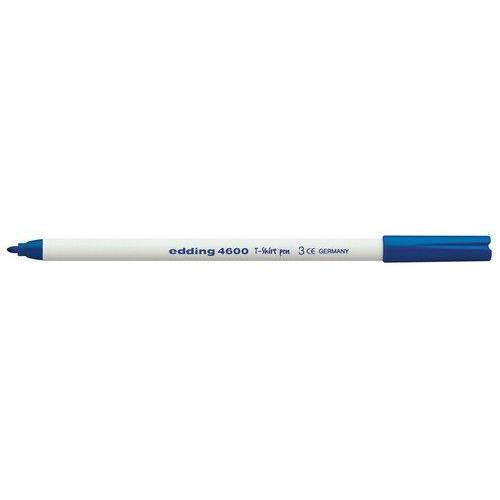 edding-4600 textielpen blauw 10ST 1 mm / 4-4600003