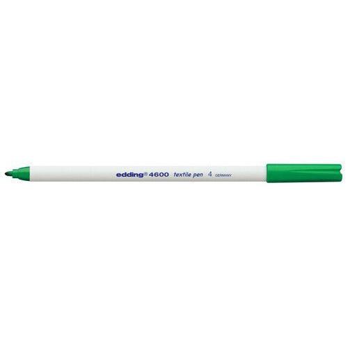 edding-4600 textielpen groen 10ST 1 mm / 4-4600004