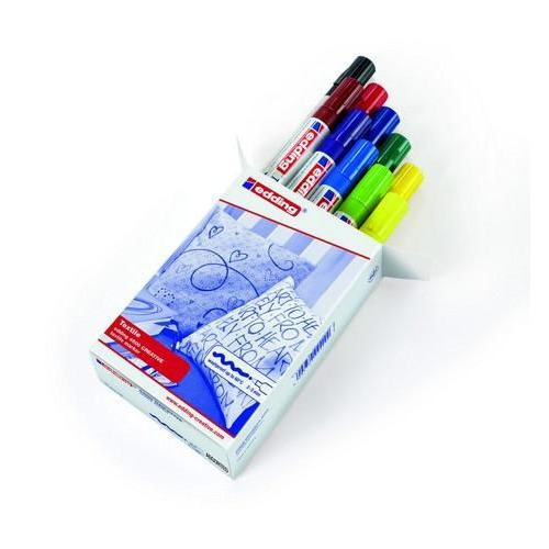 edding-4500 assorttextielmarker basis  10ST 2-3 mm / 4-4500999