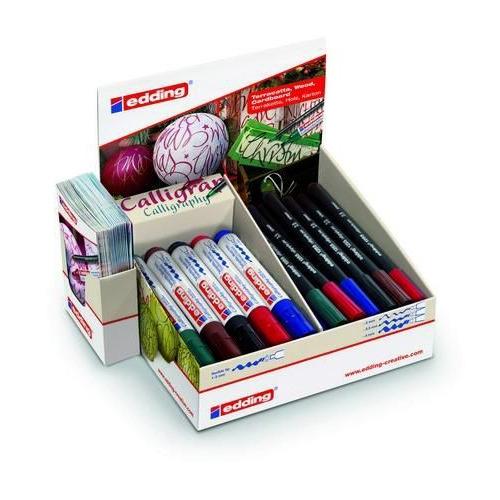 edding-display-1255 kalligrafie pennen-1455 markers kerst 4-51538