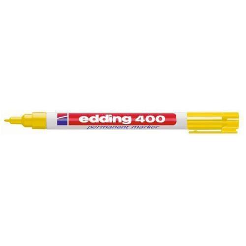 edding-400 permanent marker geel   1ST 1 mm /  4-400005