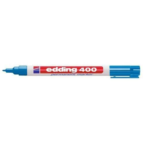 edding-400 permanent marker lichtblauw  1ST 1 mm /  4-400010
