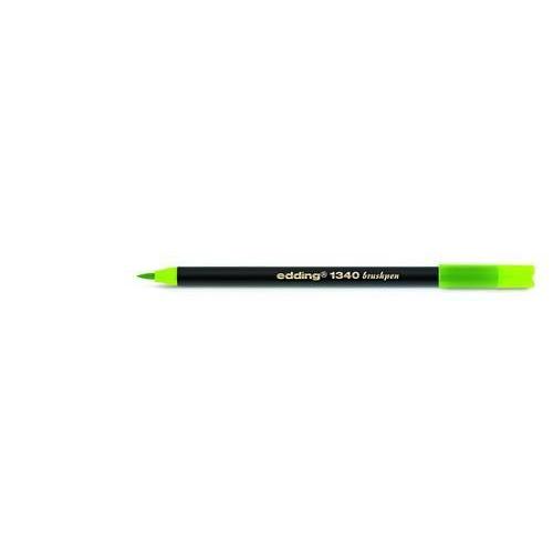 edding-1340 brushpen lichtgroen 4-1340011