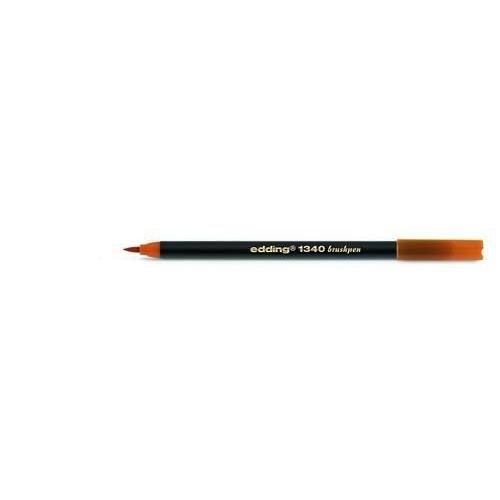 edding-1340 brushpen oker 4-1340013