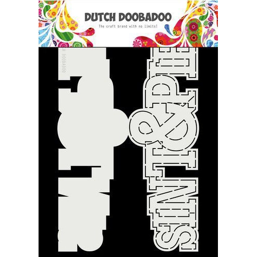 Dutch Doobadoo  Card Art A4 Sint en Piet (NL) 470.713.752 (11-19)