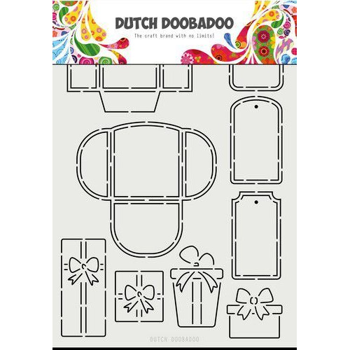 Dutch Doobadoo Dutch Mask Art A4 Labels & tags A4 470.715.813 (11-19)