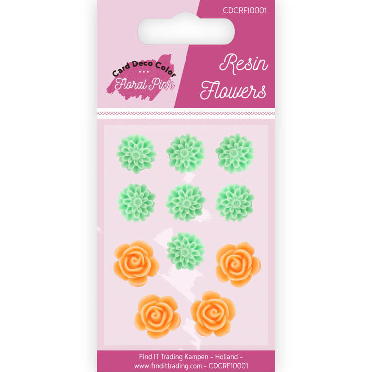 Resin Flowers - Yvonne Creations - Floral Pink