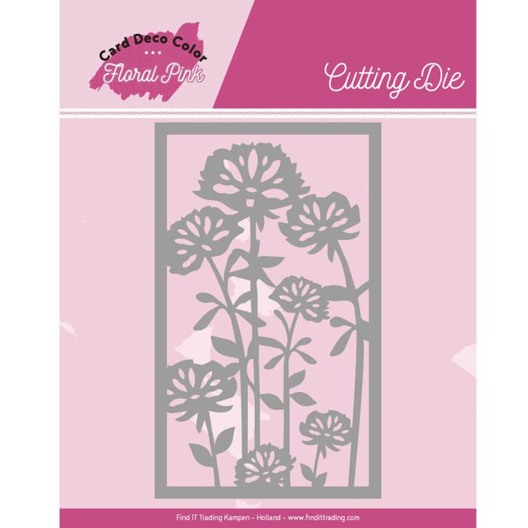 Dies - Yvonne Creations - Floral Pink - Floral Pink Frame