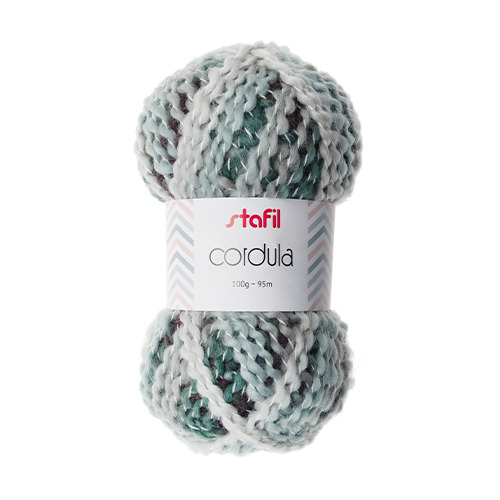 Cordula Yarn, White/Grey/Black