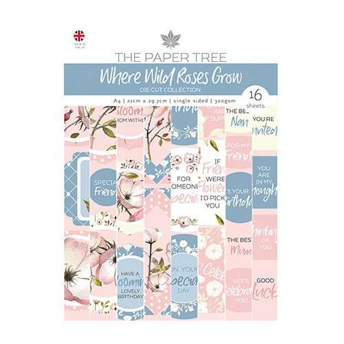 Where Wild Roses Grow Die Cut Sheets