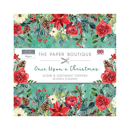 Once Upon a Christmas Sentiments Pad