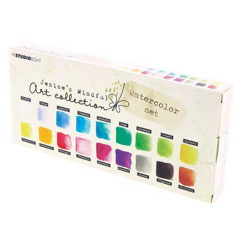 Studio Light Aquarelset Watercolor Jenine's Mindful 2.0 nr 01 WCJMA01 (12-19)