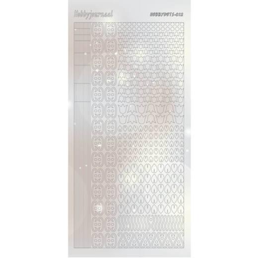 HobbydotsSticker - Pearl- 12 Silver
