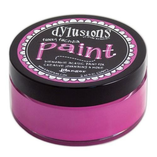 Ranger Dylusions Paint 59 ml - funky fuchsia DYP50988