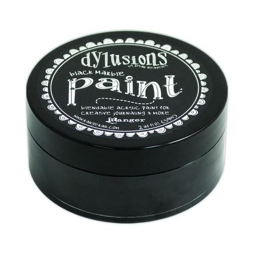 Ranger Dylusions Paint 59 ml - black marble DYP45946