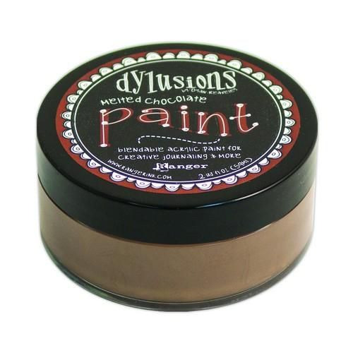 Ranger Dylusions Paint 59 ml - melted chocolate DYP46011