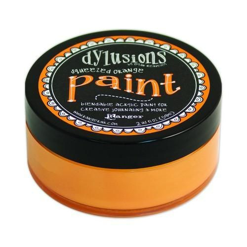 Ranger Dylusions Paint 59 ml - squeezed orange DYP46035