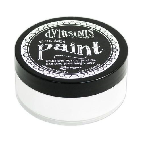 Ranger Dylusions Paint 59 ml - white linen DYP46059