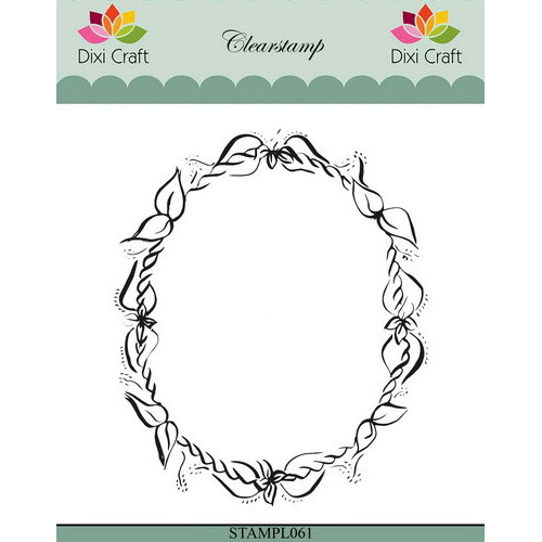 Dixi Clear Stamp flower frame