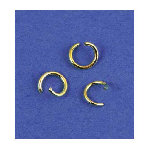 Split Ring, Gold