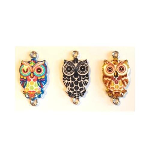Metal Charms, Owls