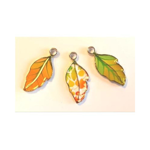 Metal Charms, Leaves