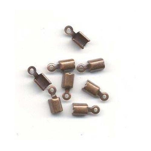 Cord Clasp small,  Antique Copper