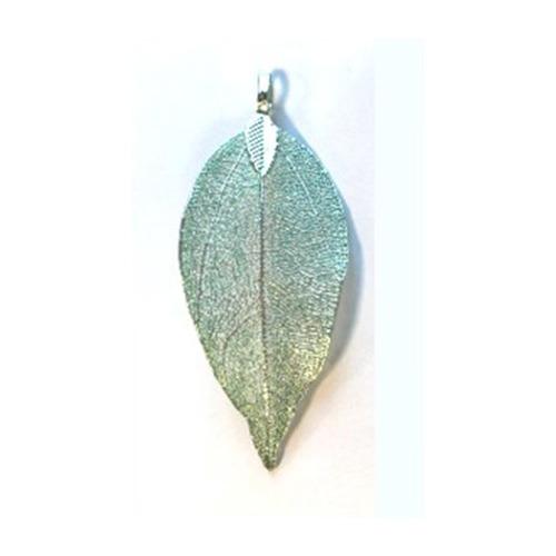 Natural Leaf with Hanger, Green