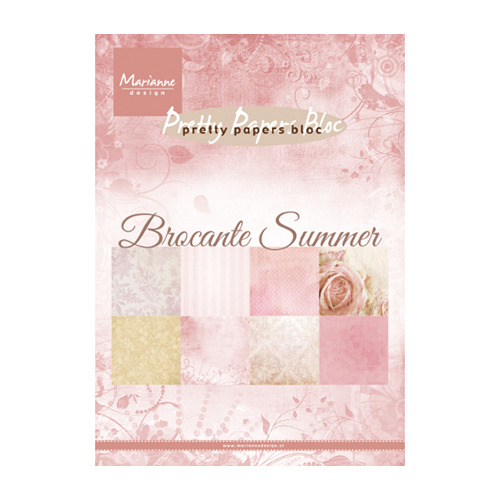 Pretty Papers Blocks - A5 Brocante summer