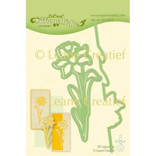 LeCrea - Leabilitie Silhouette die Narcis snij en embossing mal 45.6432 (01-20)