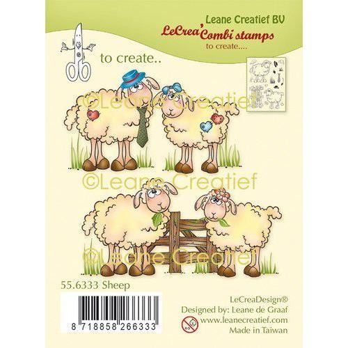 LeCrea - clear stamp combi Schapen 55.6333 (01-20)