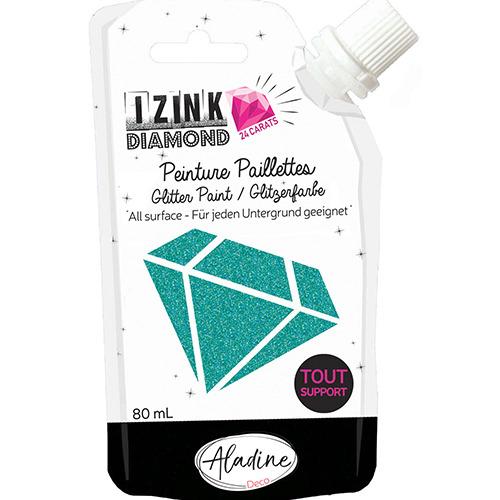 IZINK DIAMOND 24 CARATS TURQUOISE