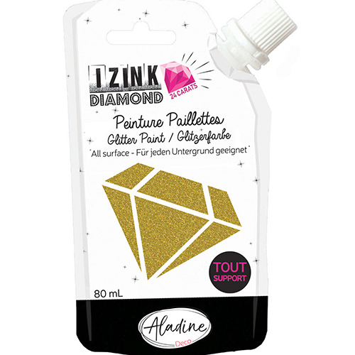 IZINK DIAMOND 24 CARATS LIGHT GOLD