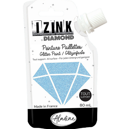 IZINK DIAMOND BLEU CIEL 80 ML
