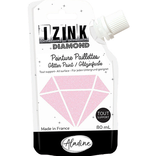 IZINK DIAMOND ROSE PASTEL 80 ML
