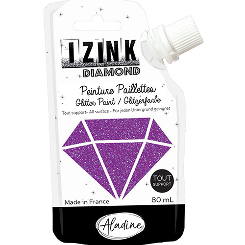 IZINK DIAMOND VIOLET 80 ML