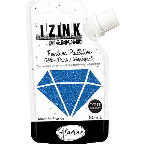 IZINK DIAMOND BLEU MARINE 80 ML