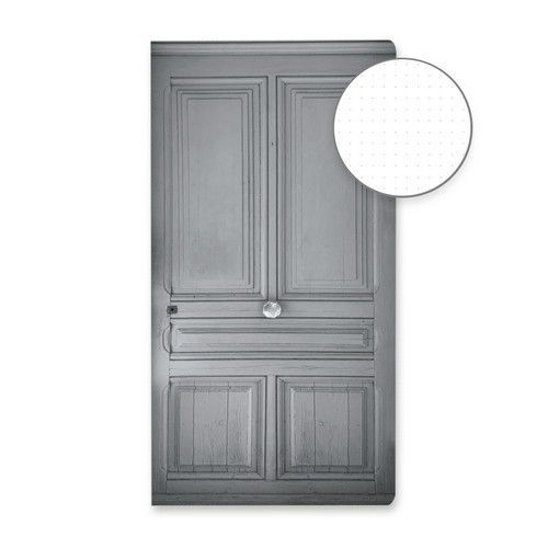 Piatek13 - Dot journal 01 Grey door P13-DOT-01 (11-19)