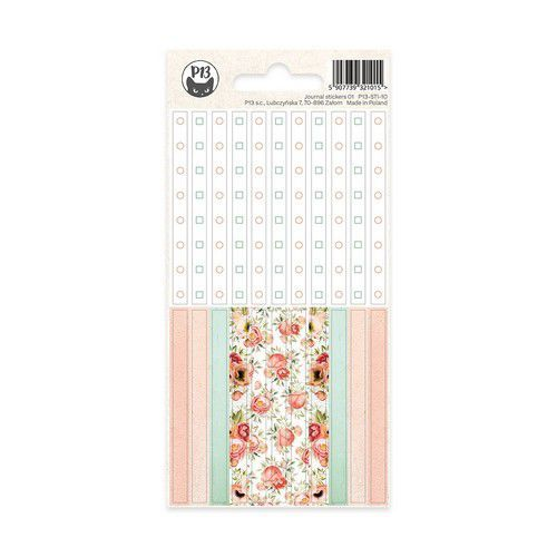 Piatek13 - Sticker Sheet Journal 10 P13-STI-10 (11-19)
