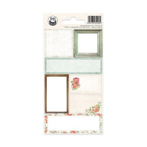 Piatek13 - Sticker Sheet Journal 12 P13-STI-12 (11-19)