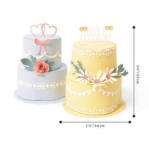 Sizzix Thinlits Die  Set - 29PK Cake Pop-Up 664356 (01-20)