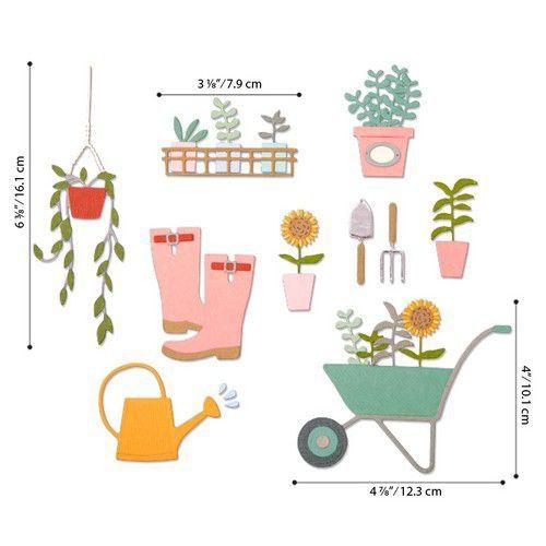Sizzix Thinlits Die  Set - 23PK Garden Shed 664379 Sophie Guilar (01-20)