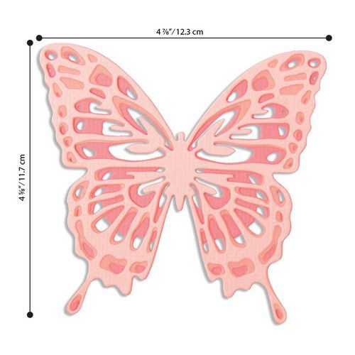 Sizzix Thinlits Die  Set - 3PK Intricate Wings 664394 Jessica Scott (01-20)