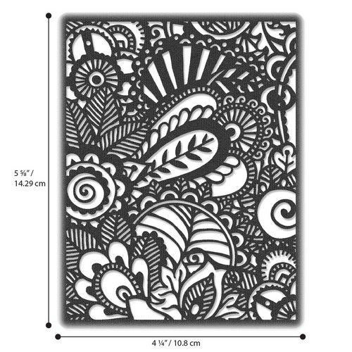 Sizzix Thinlits Die - Doodle Art 664417 Tim Holtz (01-20)