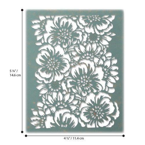 Sizzix Thinlits Die - Bouquet 664418 Tim Holtz (01-20)