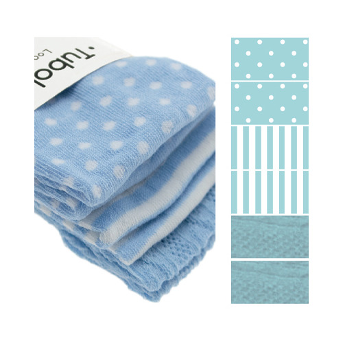 Set cotton tube, Light Blue