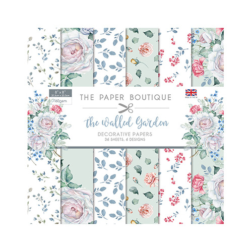 The Walled Garden Paper Pad